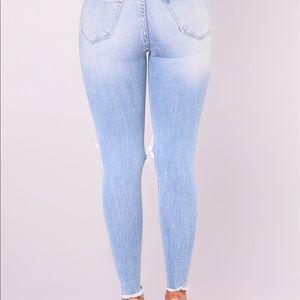 Fashion Nova Distressed Jeans Brand New
